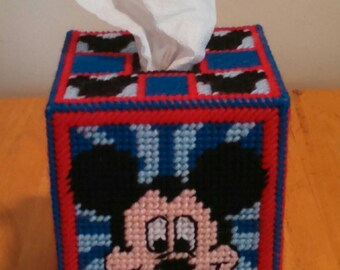 Mickey Mouse tissue box topper