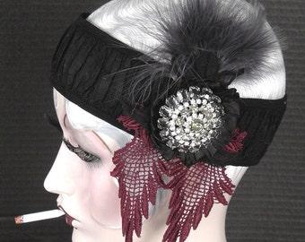 Gatsby Style Fabulous Flapper Headpiece On Sale