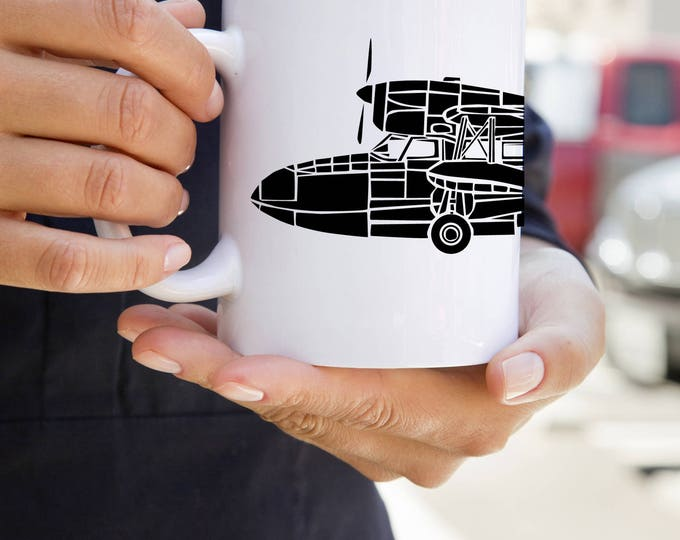 KillerBeeMoto:   Coffee Mug Grumman G-44 Widgeon Seaplane Coffee Mug