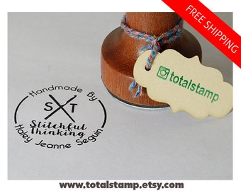 Personalized Rubber Stamp - Business Card Stamp