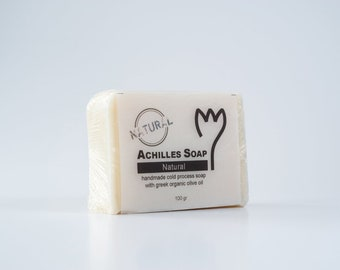 100% Greek Organic Olive Oil Soap - Natural Soap - Handmade Cold Process Soap