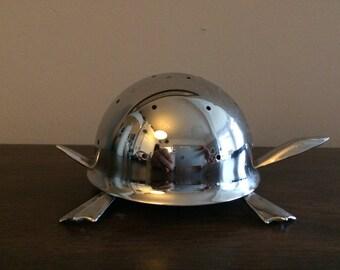 Irvinware Mock Turtle Hors D'Oeurve Metal Toothpick Holder