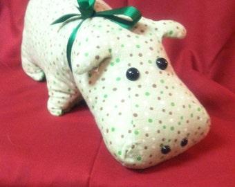 Hippo Stuffed Animal