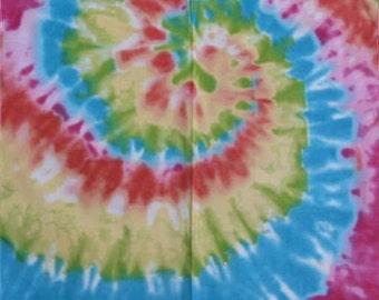 Tie die bandana hippy head wear bandanna tye dye