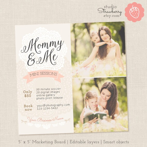 Mommy And Me Mini Session Template Mothers Day Mini Sessions