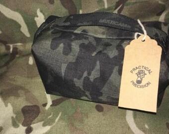 Black Multicam Rear bag