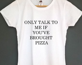 Pizza t shirt womens clothing pizza clothes pizza clothing pizza top tee gift for teens pizza lover gift gifts for her pizza tshirt pizza