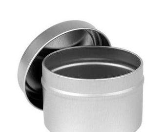 Set of 12 - 4 oz. Metal Tins -