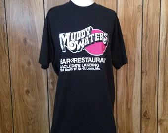 Vintage muddy waters tshirt