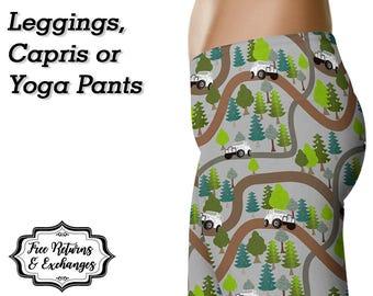 Offroad Trail Leggings, Capris or Yoga Pants