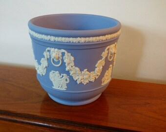 Wedgwood Jasperware Plant Pot