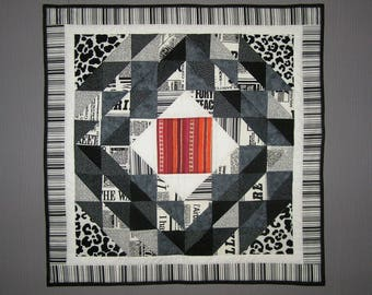 Small grey patchwork
