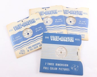 View-Master Reels Lot The Christmas Story and Rudolph the Red Nosed Reindeer