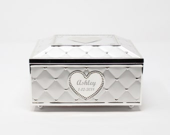 Lenox Personalized Engraved Childhood Memories Musical Jewelry Box