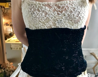 Royal Plum Corset by Restored By Design