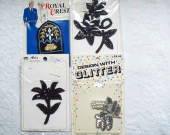 Lot of Appliques - Supply, Supplies, Sewing, Millinery, NWOT, NIP, New Old Stock