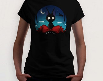The Witch's Familiar (Kiki's Delivery Service t-shirt)