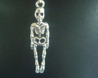 Dolls House Miniature Hanging Skeleton