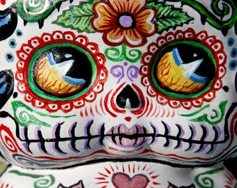 Dia De Los Muertos Deadey Betty Boop PRINT 265 from Sculpture by Michael Brown/UC Studios