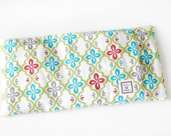 Heating Pad (Microwavable) // Buckwheat and Rice Heating Pad // Cold Pack // Removable Cover