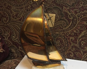 John DeMott Sailboat Sculpture
