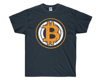 Bitcoin Crypto Novelty TShirt