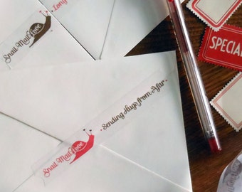 snail mail love washi paper tape sending hugs from afar and long distance warm fuzzy postal embellishment great for envelopes