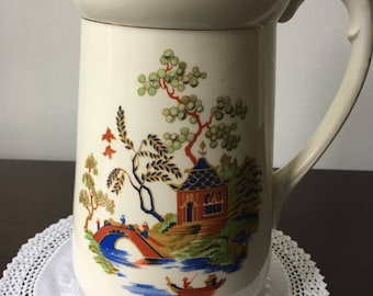 Vintage Made in England Ironstone Pitcher