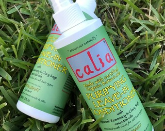 NEW!! Calia's 8 oz Organic Purifying LEAVE-IN Conditioner