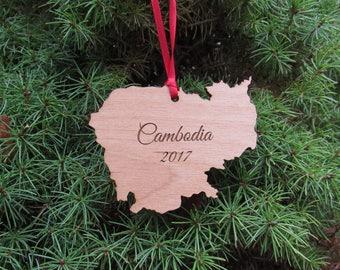 Cambodia Ornament