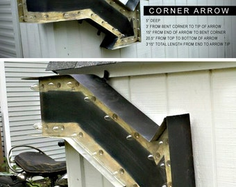 Marquee Corner Arrow
