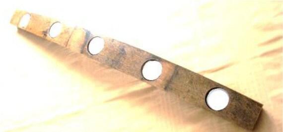 Barrel Stave Candle Holder