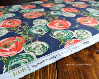 """Woodlands Fusions Fabric by Bari J for Art Gallery Fabrics """"Paradis Woodlands"""" 100% cotton. FUS-W-600 - Select Your Length"""