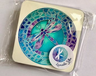 Dragonfly Coasters