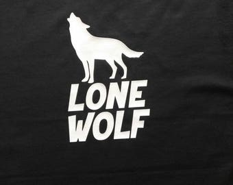 Lone Wolf Funny Shirt