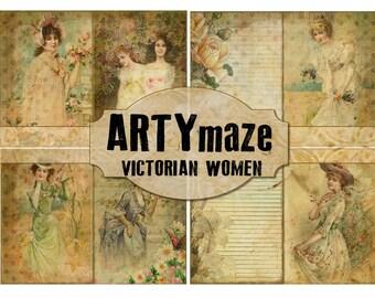 VICTORIAN WOMEN Digital Journal  *instant download*