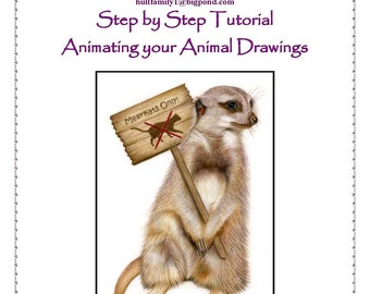Step by Step Art Tutorial - Animating your animals by Karen Hull
