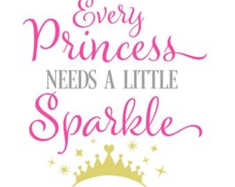 Every Princess Needs A Little Sparkle
