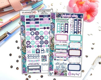 Sea Life Personal Sized Kit | Planner Stickers