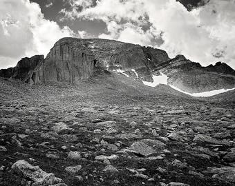 Longs Peak, Colorado 14er, RMNP Metal Print