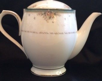 Noritake Greenbrier Teapot and Lid - Discontinued Item #4101