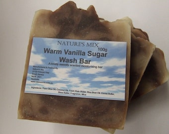 Warm Vanilla Sugar Wash Bar