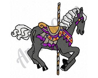 Carousel Pony - Machine Embroidery Design