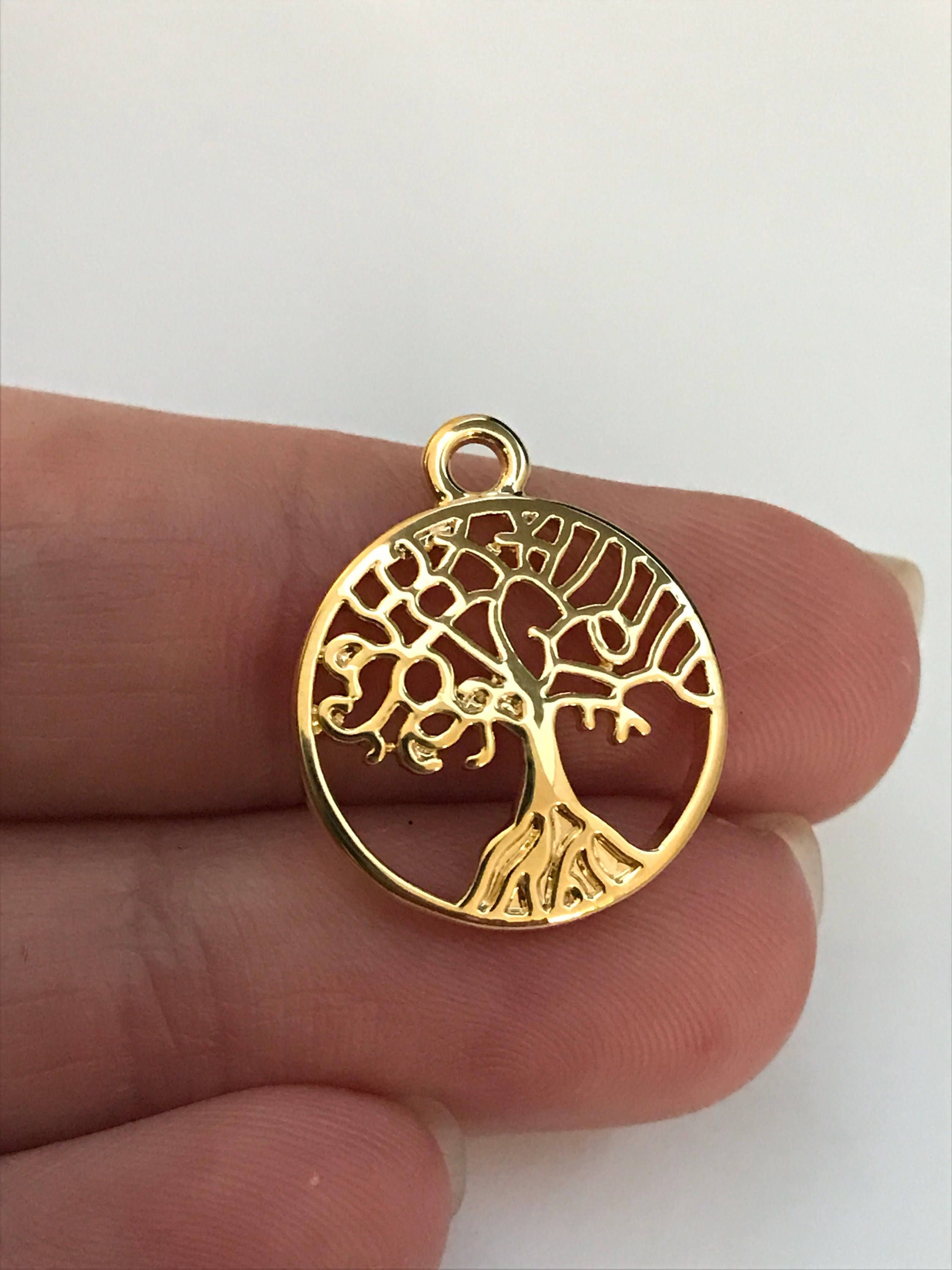floating tree on heart pendant crystals orders overstock round locket queenberry charm necklace over shipping love product free jewelry family watches