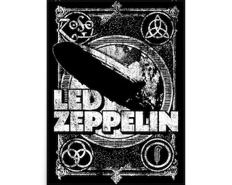 Led Zeppelin 18x24 Graphic Poster