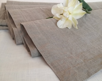 Linen Table Runner - Grey Linen Table Runner - Wedding Table Runner - Elegant Table Runner - Undyed Linen Runner - Christmas Table Runner