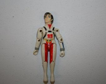 Robotech Rick Hunter 1985 matchbox Action Figure Free Shipping