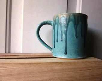Handmade Ceramic Mug - Ash Glaze
