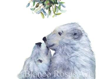 A6 Christmas bears