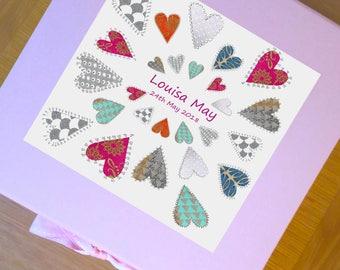 baby keepsake box, personalised, baby gifts,christening,newborn, keepsake, memory box, baby gifts, large keepsake box, baby girl